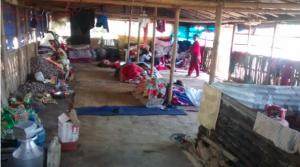 Notunterkünfte in Dharmastali