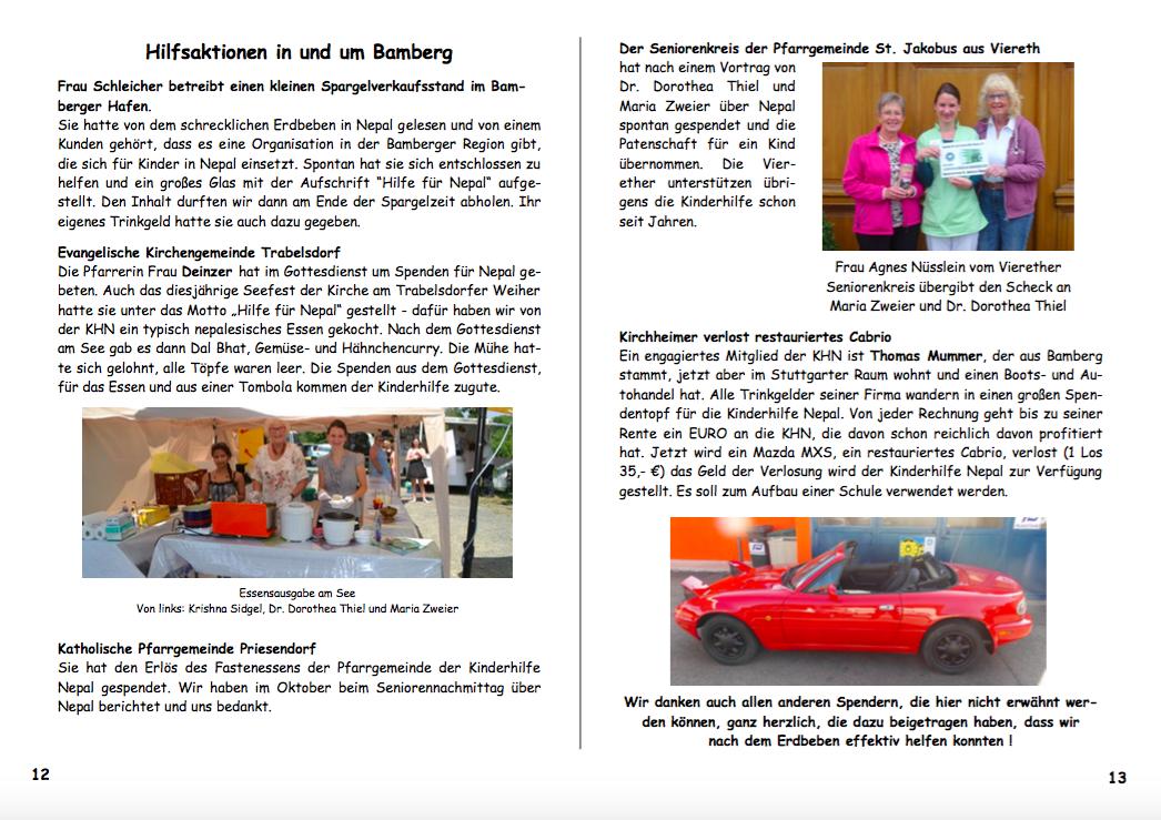 Jahresbericht 2015 Seiten 12|13