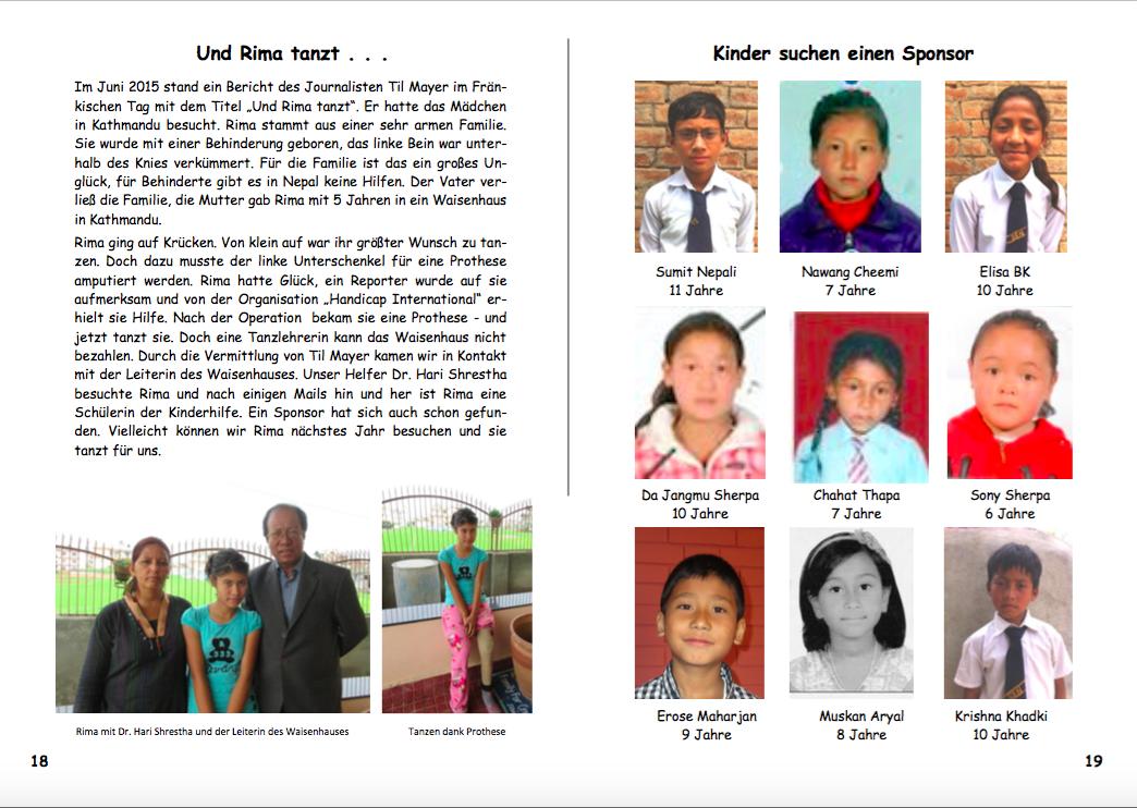 Jahresbericht 2015 Seiten 18|19