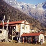 Thangka Malschule in Lukla