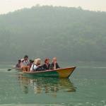Bootstour auf dem Pewa See